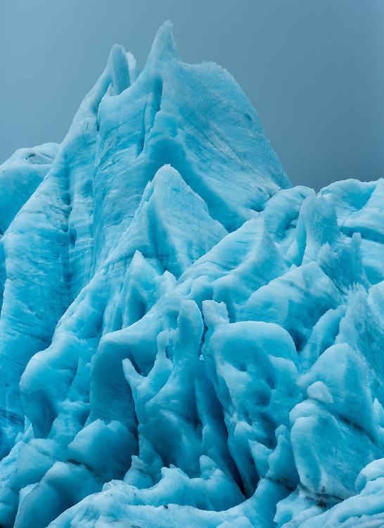 Portage Glacier, Kenai Peninsula, Chugach National Forest, Alaska