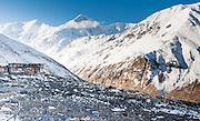 Lodge in the Himalayan White Peaks (Nepal)