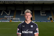 Dundee FC new signing Josh Meekings pictured after signing at Dens Park, Dundee - photograph by David Young<br /> <br />  - &copy; David Young - www.davidyoungphoto.co.uk - email: davidyoungphoto@gmail.com