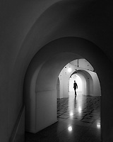 The lower levels of Tate Britain
