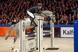 Brinkman Tom (NED) - Emir R<br /> KWPN Stallion Selection - 's Hertogenbosch 2014<br /> © Dirk Caremans