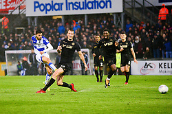 Liam Sercombe of Bristol Rovers scores the opening goal to make it 1-0 - Mandatory by-line: Dougie Allward/JMP - 24/04/2018 - FOOTBALL - Memorial Stadium - Bristol, England - Bristol Rovers v Wigan Athletic - Sky Bet League One