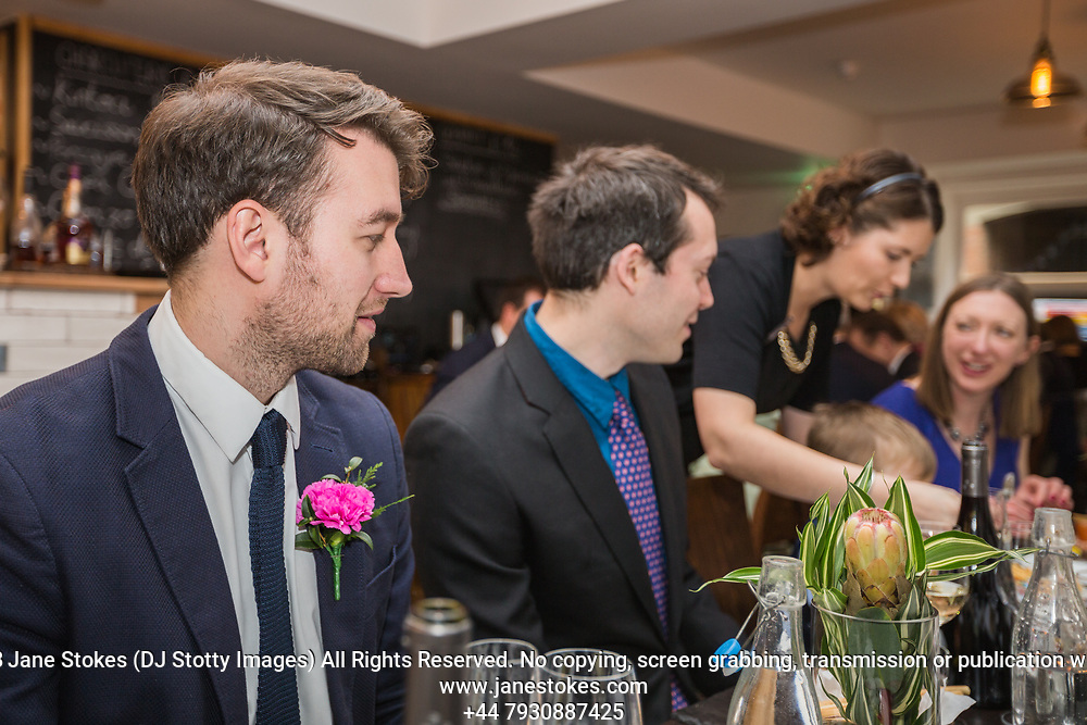 Phil & Matt's Wedding Breakfast on Saturday 27 January 2018 at Petit Pois Restaurant. Photo by Jane Stokes (DJ Stotty Images)