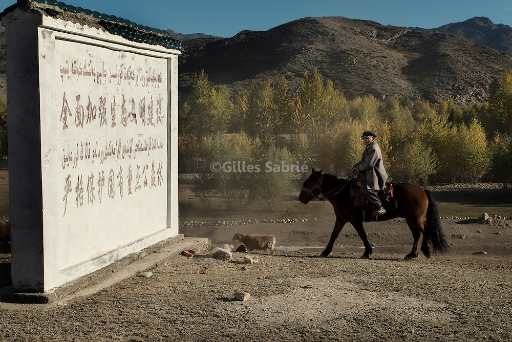For a story by Ed Wong - Slug : XINJIANG<br />