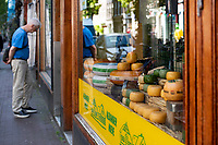 The de Pijp neighborhood market began trading in 1904, with now over 300 stalls are lining both sides of the Albert Cuyp street. Stalls sell everything from fruit, vegetables, cheese, fish and spices to clothes, cosmetics and bedding.
