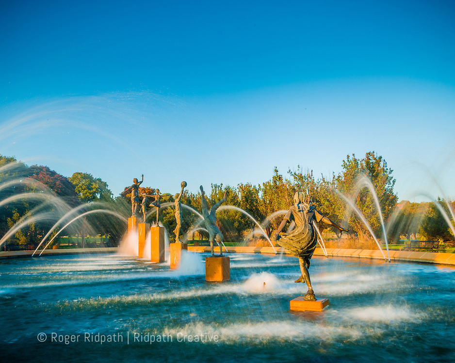 Kansas City's Children's Fountain Late afternoon