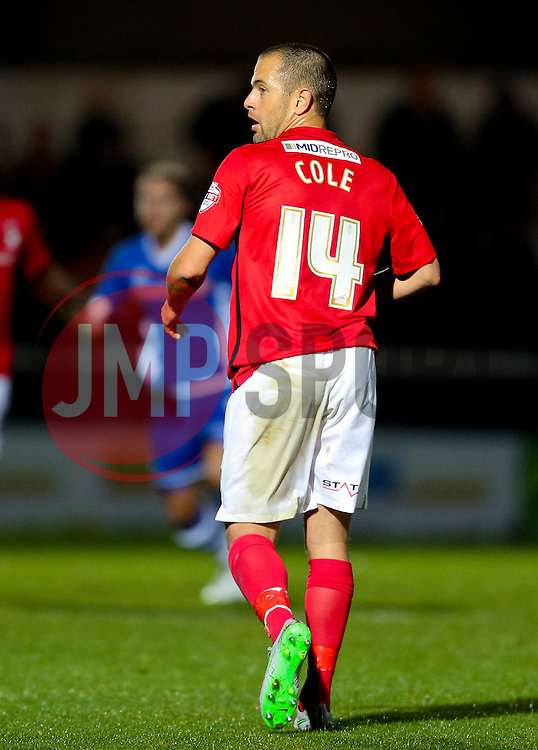 Joe Cole of Coventry City - Mandatory byline: Matt McNulty/JMP - 07966 386802 - 20/10/2015 - FOOTBALL - Gigg Lane - Rochdale, England - Rochdale v Coventry - Sky Bet League One