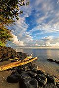 Vertical Stock Photo of Anini Beach in Kauai