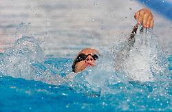 Rok Sagmeister at swimming competition of EYOF 2007 (European Youth Olympic Festival) in Belgrade, 21. - 28. July 2007,  Tasmajdan pool, Belgrade, Serbia. (Photo by Vid Ponikvar / Sportida)