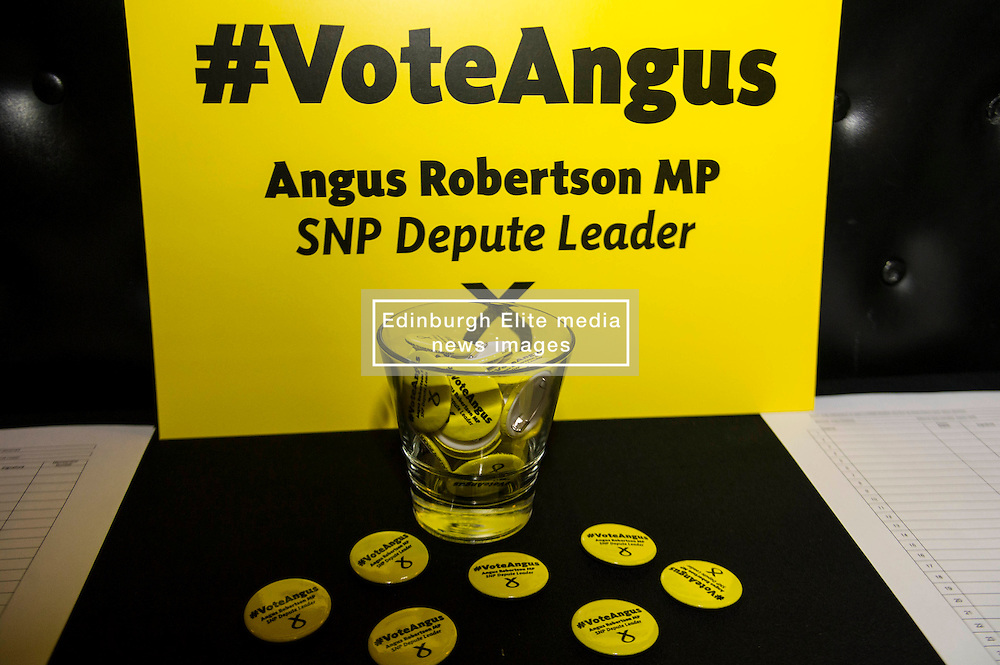 Pictured: <br /> MP Angus Robertson launched his campaign for depute leadership of the SNP today. Mr Robertson made his first public speech since declaring his bid for the post, at the Voodoo Rooms in Edinburgh <br /> <br /> Ger Harley   EEm 28 July 2016