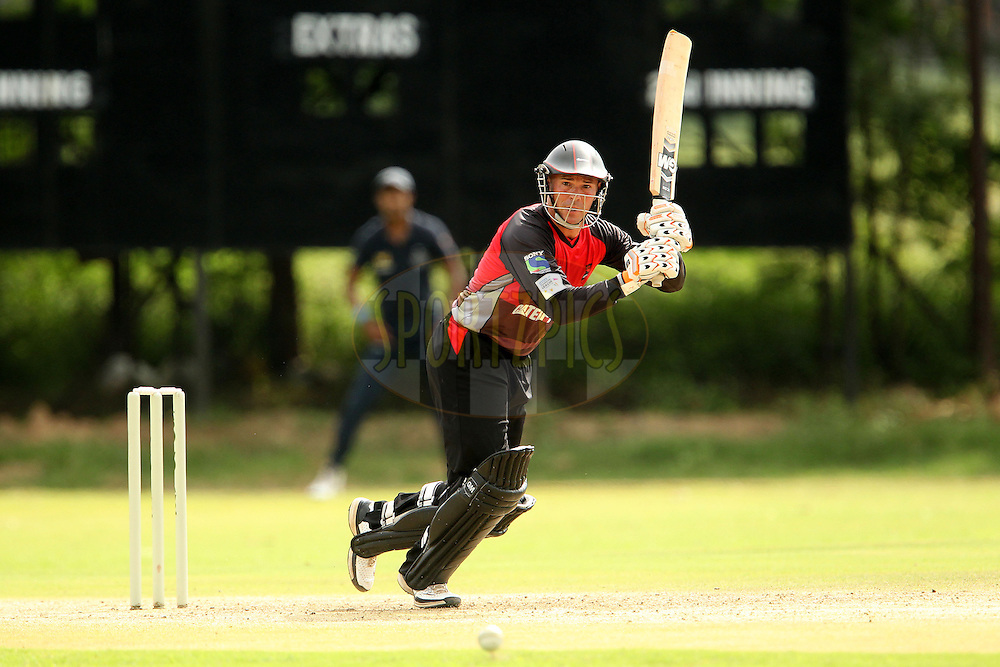 Paul Nixon during the Leicestershire Foxes warm up match held at the HCA Gymkhana Ground in Secunderabad, Hyderabad on the 18th September 2011..Photo by Ron Gaunt/BCCI/SPORTZPICS
