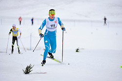 UTKIN Iurii Guide: KAZAKOV Vitalii, UKR at the 2014 IPC Nordic Skiing World Cup Finals - Middle Distance