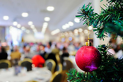 A general view of the Exeter Suite decorated for Christmas prior to kick off - Mandatory by-line: Ryan Hiscott/JMP - 22/12/2018 - RUGBY - Sandy Park - Exeter, England - Exeter Chiefs v Saracens - Gallagher Premiership Rugby