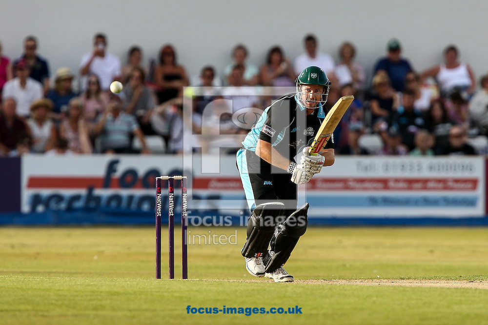 Chris Munro of Worcestershire Rapids during the Natwest T20 Blast match at the County Ground, Northampton<br /> Picture by Andy Kearns/Focus Images Ltd 0781 864 4264<br /> 18/07/2014