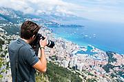 May 23-27, 2018: Monaco Grand Prix. Laurent Charniaux shoots a scenic view of Monaco