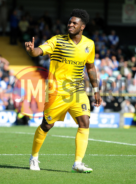 Ellis Harrison - Mandatory byline: Neil Brookman/JMP - 07966386802 - 15/08/2015 - FOOTBALL - Huish Park -Yeovil,England - Yeovi Town v Bristol Rovers - Sky Bet League One