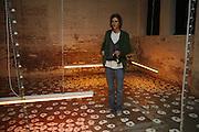 Henry Hudson, Henry Hudson exhibition, 2 Ada St. London E8. 25 October 2006. -DO NOT ARCHIVE-© Copyright Photograph by Dafydd Jones 66 Stockwell Park Rd. London SW9 0DA Tel 020 7733 0108 www.dafjones.com