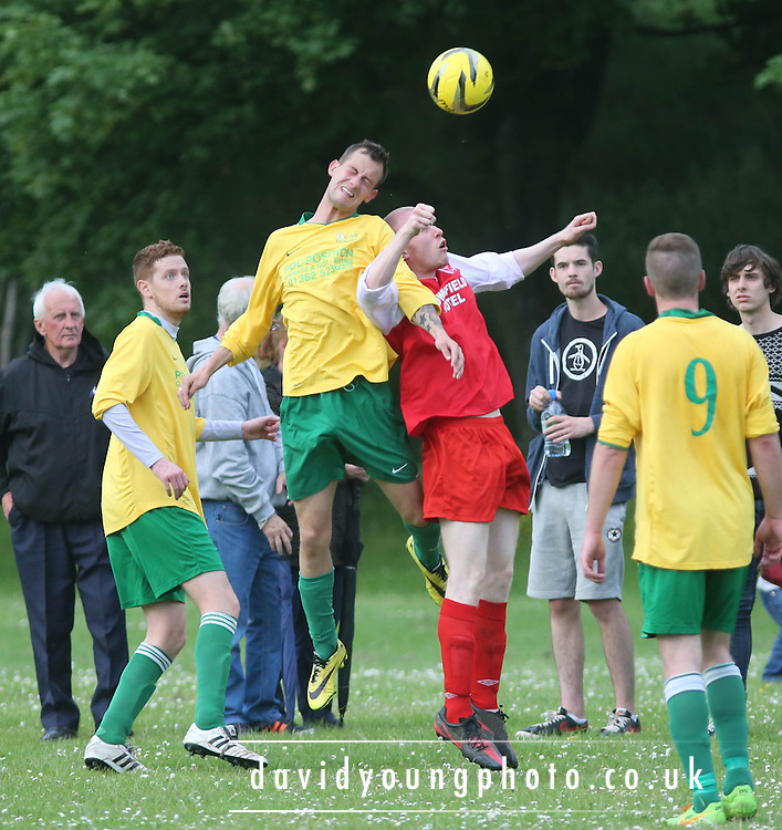 Docs AFC (Red) v Lochee (Yellow and Green) - Dundee Summer FA Riverside Utilities Consultants Premier Division at Drumgieth<br /> <br />  - &copy; David Young - www.davidyoungphoto.co.uk - email: davidyoungphoto@gmail.com