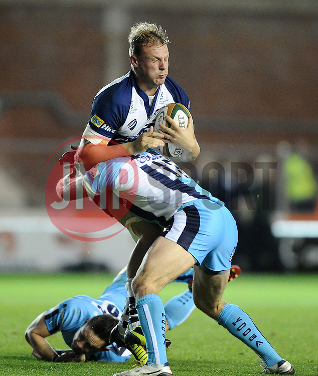Bristol No.8 Mitch Eadie  - Photo mandatory by-line: Joe Meredith/JMP - Mobile: 07966 386802 - 20/05/2015 - SPORT - Rugby - Bristol - Ashton Gate - Bristol Rugby v Worcester Warriors - Greene King IPA Championship - Play-Off Final