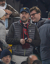 February 26, 2019 - Rome, Italy - Matteo Salvini during the Italian Cup football match between SS Lazio and AC Milan at the Olympic Stadium in Rome, on february 26, 2019. (Credit Image: © Silvia Lore/NurPhoto via ZUMA Press)