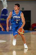 DESCRIZIONE : Bormio Torneo Internazionale Gianatti Italia Croazia <br /> GIOCATORE : Giuliano Maresca<br /> SQUADRA : Nazionale Italia Uomini <br /> EVENTO : Bormio Torneo Internazionale Gianatti <br /> GARA : Italia Croazia <br /> DATA : 01/08/2007 <br /> CATEGORIA : Palleggio<br /> SPORT : Pallacanestro <br /> AUTORE : Agenzia Ciamillo-Castoria/G.Cottini