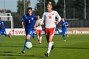 21.09.2017; Niederhasli; FUSSBALL U16 - Schweiz - Italien;<br /> Becir Omeragic (SUI) <br /> (Andy Mueller/freshfocus)