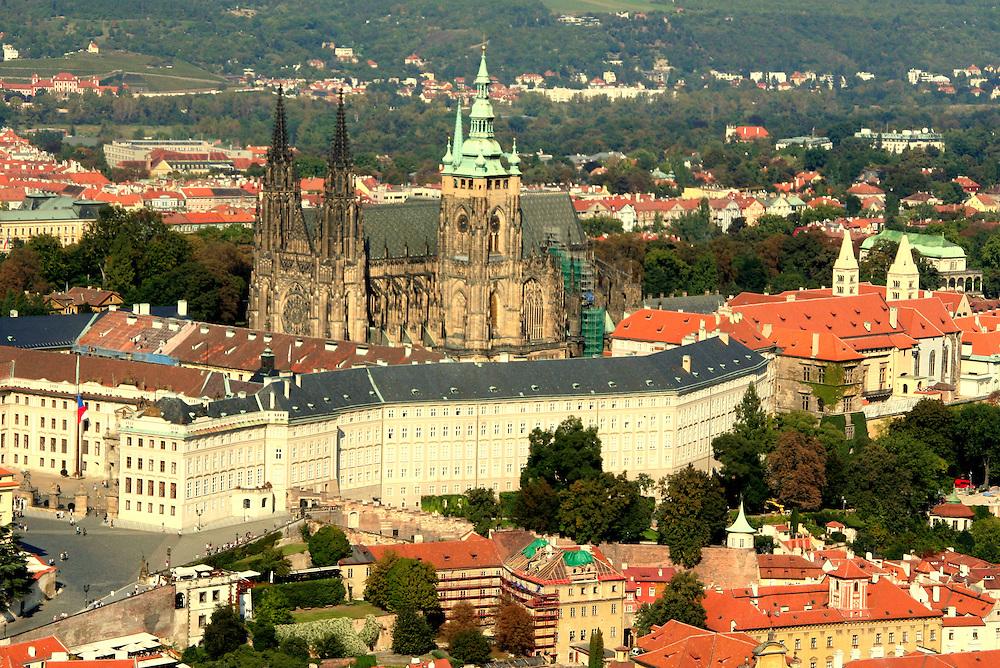 Prague Castle ( Pražský Hrad), the biggest castle in the world, Prague, Czech Republic