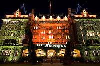 Empress Hotel at Night, Victoria, BC