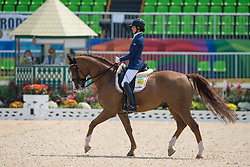 Geroge Michele (BEL) - Rainman<br /> Team Test - Grade IV - Dressage <br /> Paralympic Games - Rio 2016<br /> © Hippo Foto - Jon Stroud