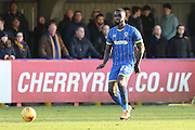 Karleigh Osborne of AFC Wimbledon  during the Sky Bet League 2 match between AFC Wimbledon and Mansfield Town at the Cherry Red Records Stadium, Kingston, England on 16 January 2016. Photo by Stuart Butcher.