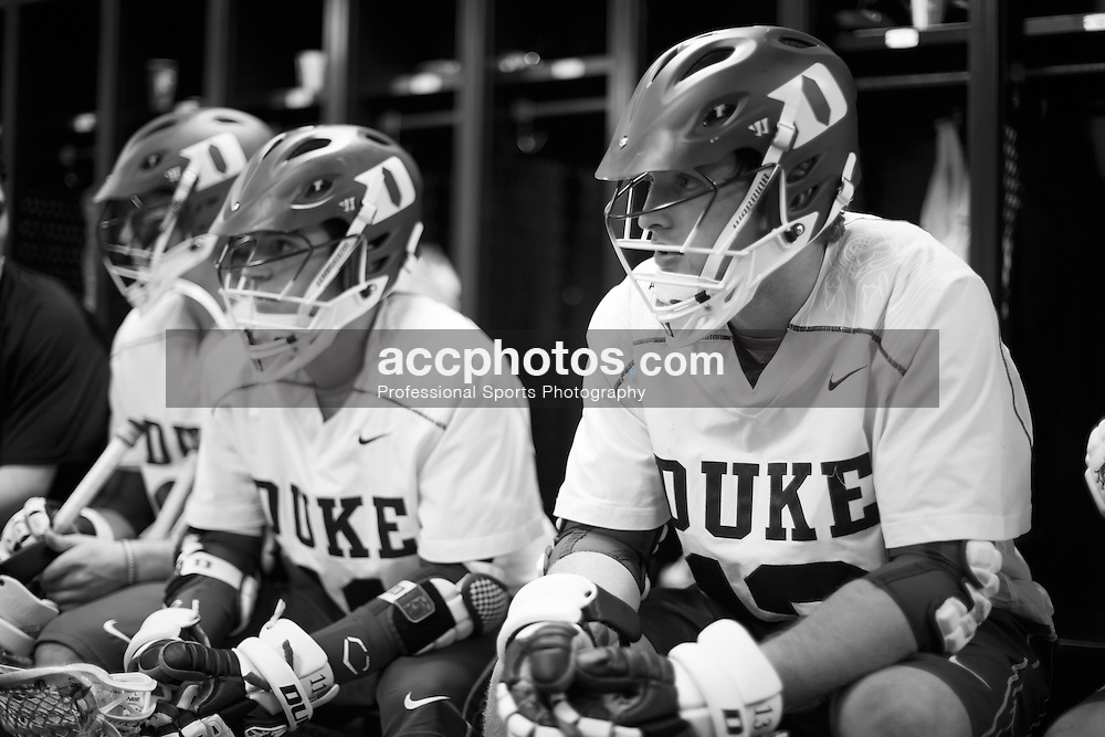DURHAM, NC - MARCH 16: Chris Hipps #13 of the Duke Blue Devils during a game against the Towson Tigers on March 16, 2013 at Koskinen Stadium in Durham, North Carolina. Duke won 12-4.