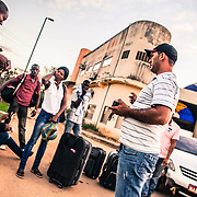 After 10 days of exhausting travels Haitian immigrants arrive in Inapari, peruvian border town with Brazil, in Acre state. From here they start their journey into Brazil. the first step is to enter through the border town of Assis Brasil where they get a permit to travel until Rio Branco where the immigrants center is located