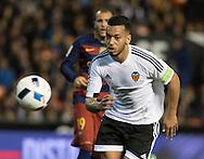 Ruben Vezo of Valencia Club de F&uacute;tbol during the Copa Del Rey match at Mestalla, Valencia<br /> Picture by Maria Jose Segovia/Focus Images Ltd +34 660052291<br /> 10/02/2016