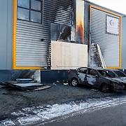 NLD/Huizen/20180216 - Brandstichting auto's gemeente Huizen