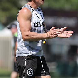 Ryan Strudwick (Assistant Coach) of the Cell C Sharks during The Cell C Sharks High CNS Rugby / Skills / Field Conditioning KP2, session at Growthpoint Kings Park in Durban, South Africa. December 9th December 2016 (Photo by Steve Haag)<br /> <br /> images for social media must have consent from Steve Haag