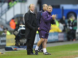 Derby Manager Steve McClaren Derby County v Reading, FA Cup 5th Round, The Ipro Stadium, Saturday 14th Febuary 2015