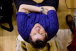 Dare Rupar at finals match of Slovenian 1st Women league between KK Hit Kranjska Gora and ZKK Merkur Celje, on May 14, 2009, in Arena Vitranc, Kranjska Gora, Slovenia. Merkur Celje won the third time and became Slovenian National Champion. (Photo by Vid Ponikvar / Sportida)