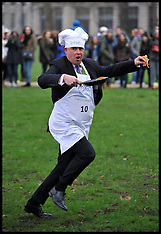 FEB 13 2013 Political Charity Pancake Race