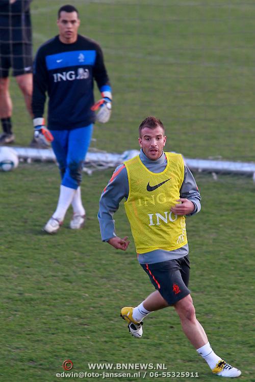 NLD/Katwijk/20110321 - Training Nederlandse Elftal Hongarije - NLD, Raphael van der Vaart