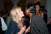 DEBBIE MOORE; VICTORIA IFY The  launch of Bentley & SkinnerÕs new premises with Lady Helen Taylor at 55 Piccadilly. Bentley and Skinner will be giving a percentage of any items sold on the night to CLIC Sargent. 14 September 2010. -DO NOT ARCHIVE-© Copyright Photograph by Dafydd Jones. 248 Clapham Rd. London SW9 0PZ. Tel 0207 820 0771. www.dafjones.com.<br />