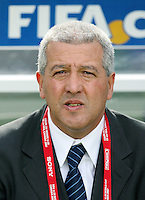 Fussball International U 20 WM  Spanien - Uruguay URU Trainer Gustavo Ferrin (URU)