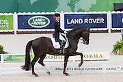 Helen Langehanenberg - Damon Hill NRW<br /> Alltech FEI World Equestrian Games™ 2014 - Normandy, France.<br /> © DigiShots