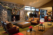 Christmas at the Allison Inn, Newberg, Willamette Valley wine country, Oregon