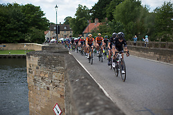 Lizzie Deignan (GBR) and Chantal Blaak (NED) of Boels-Dolmans Cycling Team rides near the front of the chasing group during Stage 1 of the OVO Energy Women's Tour - a 147.5 km road race, between Daventry and Kettering on June 7, 2017, in Northamptonshire, United Kingdom. (Photo by Balint Hamvas/Velofocus.com)