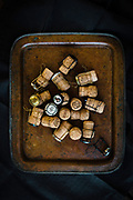 Oregon sparkling wine producer's bottle corks