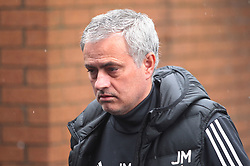 Manchester United manager Jose Mourinho arrives at Turf Moor ahead of the match  - Mandatory by-line: Jack Phillips/JMP - 20/01/2018 - FOOTBALL - Turf Moor - Burnley, England - Burnley v Manchester United - English Premier League