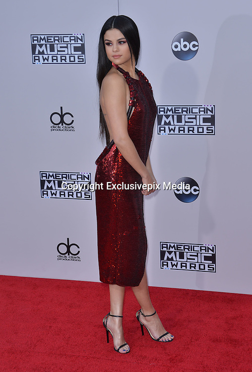 SELENA GOMEZ @ the 2015 American Music Awards held @ the Micorsoft theatre.<br /> &copy;Exclusivepix Media