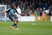 Wycombe Wanderers midfielder Marcus Bean (8) during the Sky Bet League 2 match between Wycombe Wanderers and Barnet at Adams Park, High Wycombe, England on 16 April 2016. Photo by Dennis Goodwin.