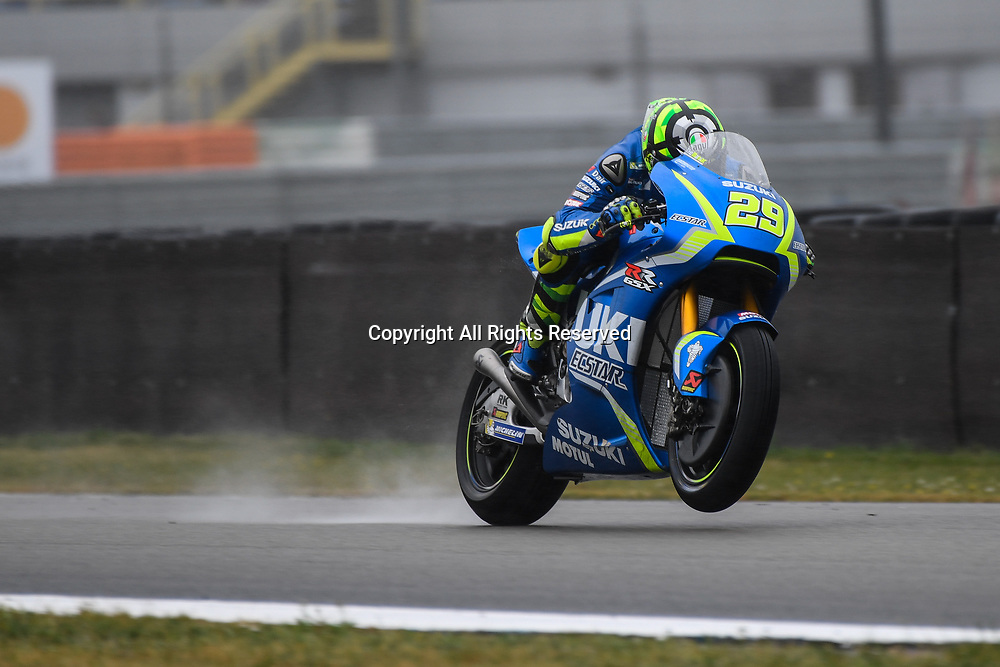 June 24th 2017, TT Circuit, Assen, Netherlands; MotoGP Grand Prix TT Assen, Qualifying Day; Andrea Iannone (Suzuki Ecstar) during the qualifying sessions