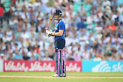 England Eoin Morgan during the Royal London One Day International match between England and New Zealand at the Oval, London, United Kingdom on 12 June 2015. Photo by Phil Duncan.